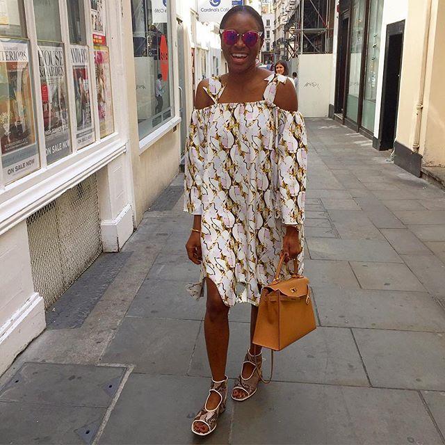 Lisa Folawiyo in Lisa Folawiyo A/W 2015